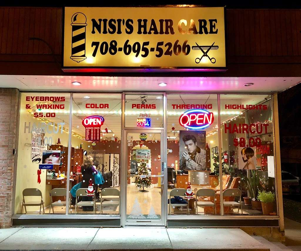 Nisis Hair Care - hair care  | Photo 3 of 10 | Address: 7847 W Belmont Ave, Elmwood Park, IL 60707, USA | Phone: (708) 695-9382