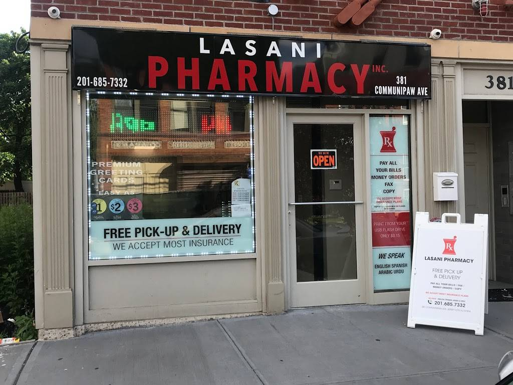 Lasani Pharmacy - pharmacy  | Photo 1 of 10 | Address: 381 Communipaw Ave, Jersey City, NJ 07304, USA | Phone: (201) 685-7332