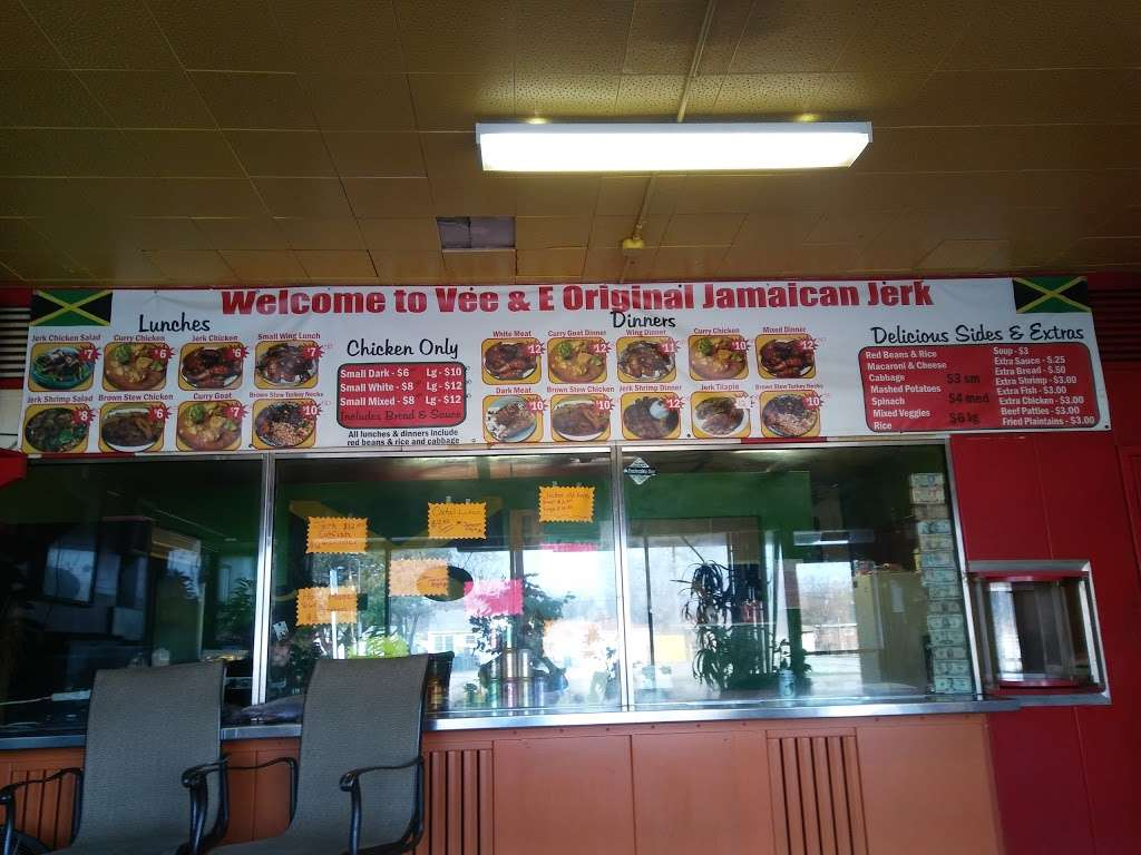 Vee and E Original Jamaican Jerk Chicken - restaurant  | Photo 1 of 10 | Address: 3712 Grant St, Gary, IN 46408, USA | Phone: (219) 512-2446