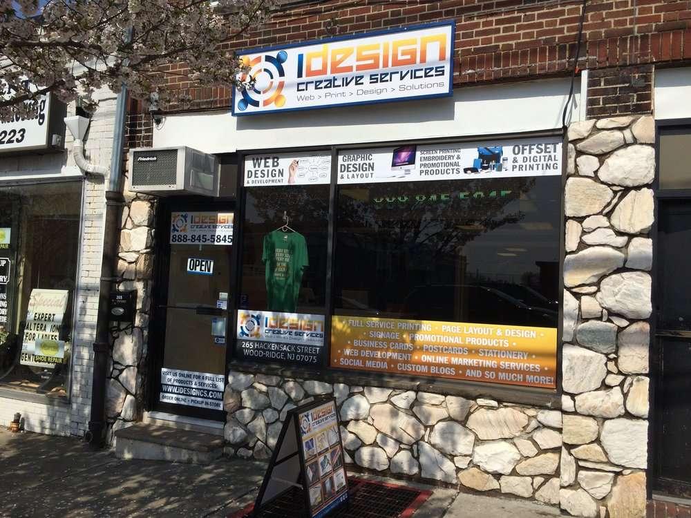 iDesign Printing and Copy Center - store    Photo 2 of 10   Address: 265 Hackensack St, Wood-Ridge, NJ 07075, USA   Phone: (201) 298-3062