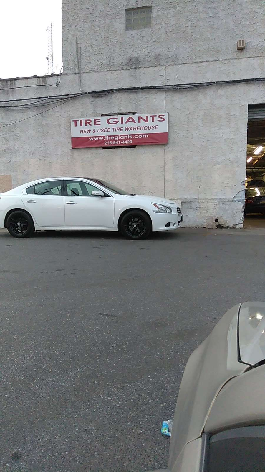 Tire Giants - car repair    Photo 6 of 10   Address: 8301 Torresdale Ave, Philadelphia, PA 19136, USA   Phone: (215) 941-4423