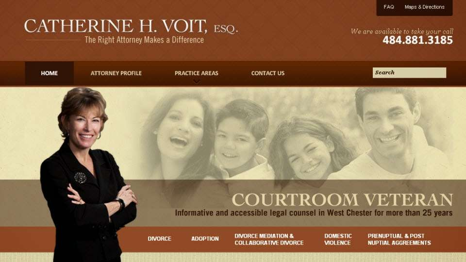 Catherine H. Voit - lawyer    Photo 2 of 2   Address: 1221 West Chester Pike, West Chester, PA 19382, USA   Phone: (610) 692-9768
