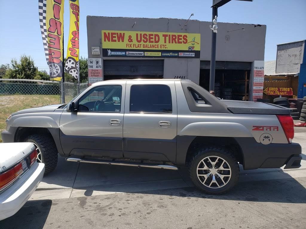Used Tires - car repair  | Photo 10 of 10 | Address: 28485 Mission Blvd, Hayward, CA 94544, USA | Phone: (510) 750-8138