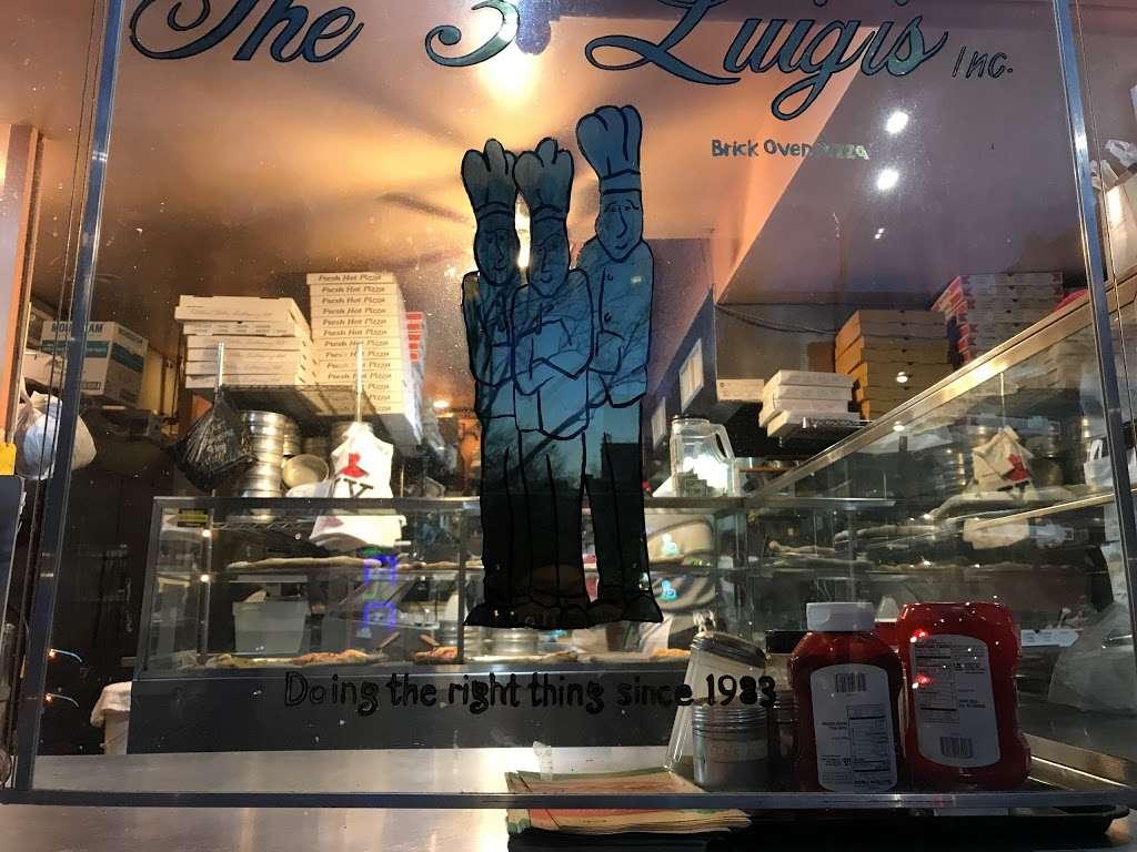 The 3 Luigis - restaurant    Photo 2 of 8   Address: 275 Grand Ave, Brooklyn, NY 11238, USA   Phone: (718) 622-0059