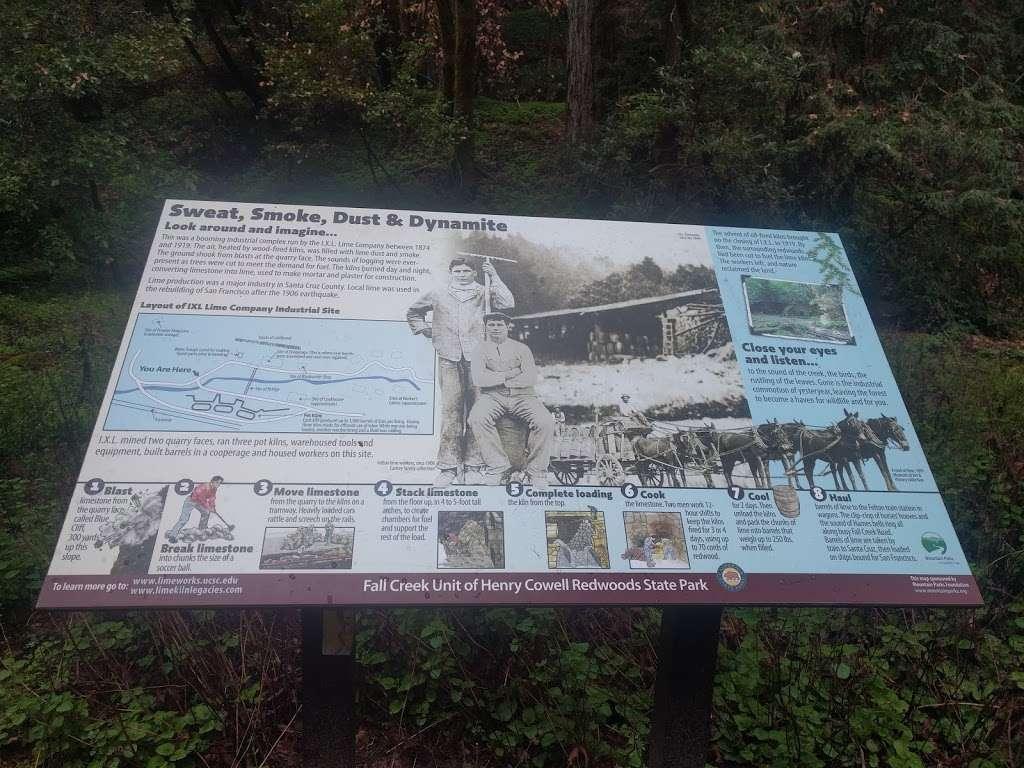 Old Lime Kiln Ruins - park  | Photo 4 of 10 | Address: Fall Creek Trail, Felton, CA 95018, USA