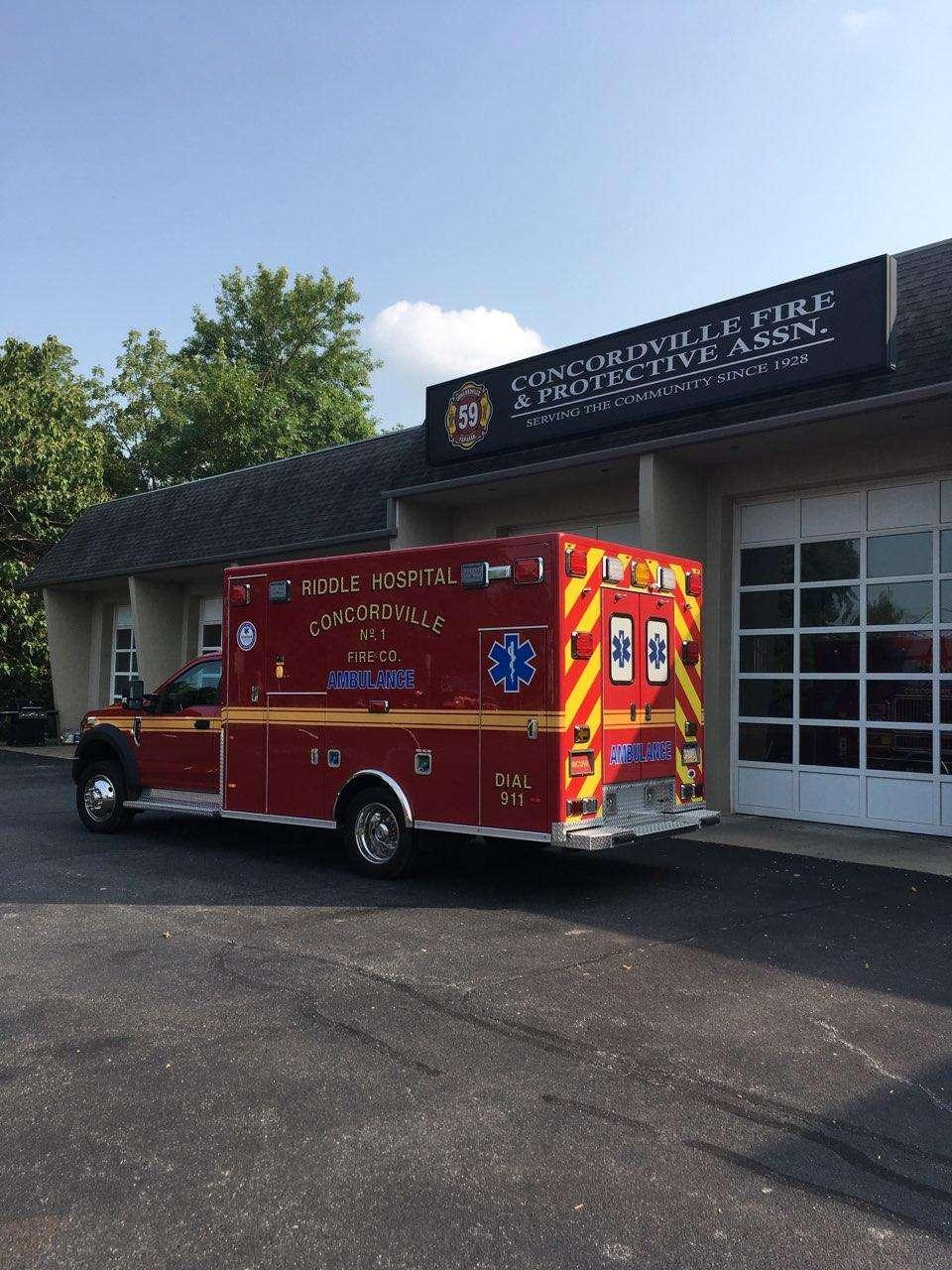 Concordville Fire & Protective - Fire station | 854 Concord