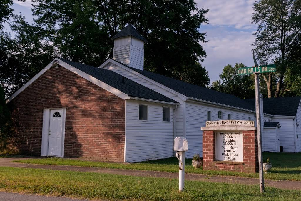 Oak Hill Baptist Church - church    Photo 1 of 1   Address: 3760 Oak Hills Dr, Walkertown, NC 27051, USA   Phone: (336) 595-8217