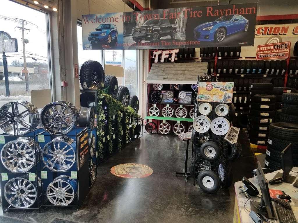 Town Fair Tire - car repair  | Photo 8 of 9 | Address: 255 US-44, Raynham, MA 02767, USA | Phone: (508) 821-2100
