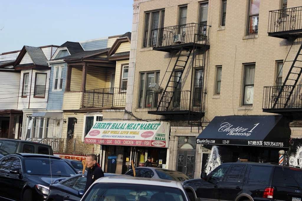 Liberty Halal Meat Market - store    Photo 2 of 2   Address: 12301 Liberty Ave, Jamaica, NY 11419, USA   Phone: (718) 843-2862