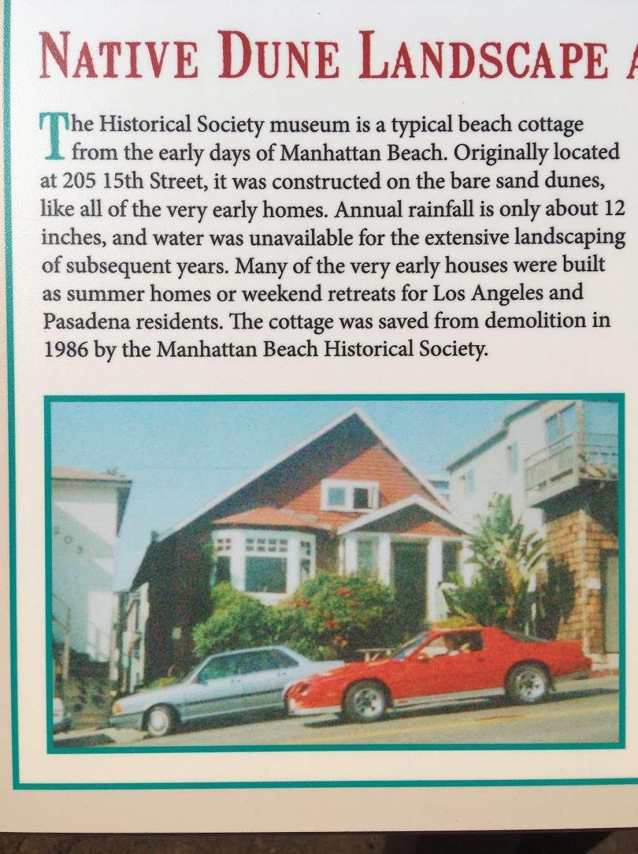 Manhattan Beach Historical Society - museum  | Photo 7 of 8 | Address: 1601 Manhattan Beach Blvd, Manhattan Beach, CA 90266, USA | Phone: (310) 374-7575