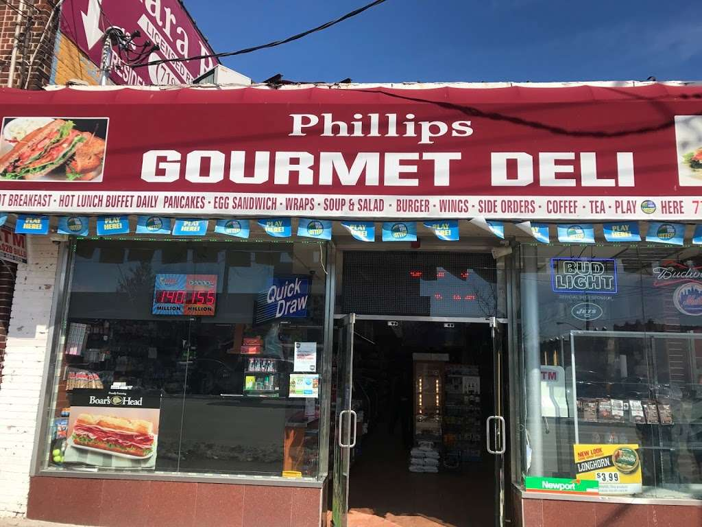 PHILLIPS GOURMET DELI - atm  | Photo 4 of 10 | Address: 3659 E Tremont Ave, Bronx, NY 10465, USA | Phone: (718) 792-1400