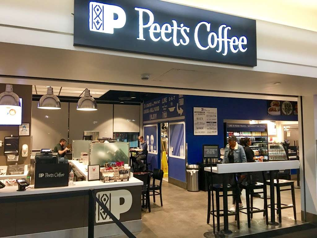 Peets Coffee - cafe    Photo 2 of 10   Address: 300 World Way, Los Angeles, CA 90045, USA