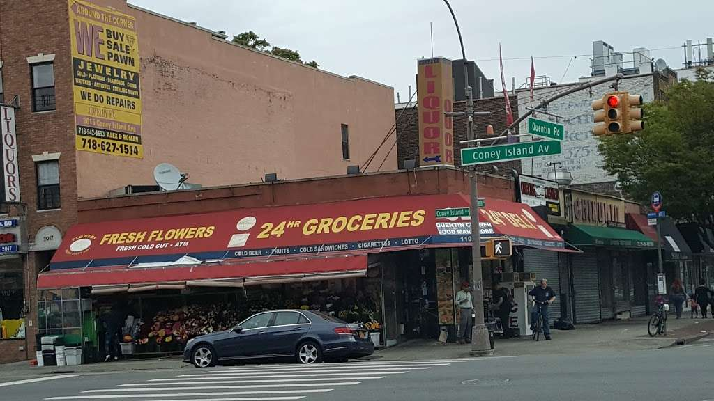 Quentin Corner Food Mart Corp - store  | Photo 1 of 1 | Address: 1101 Quentin Rd, Brooklyn, NY 11229, USA