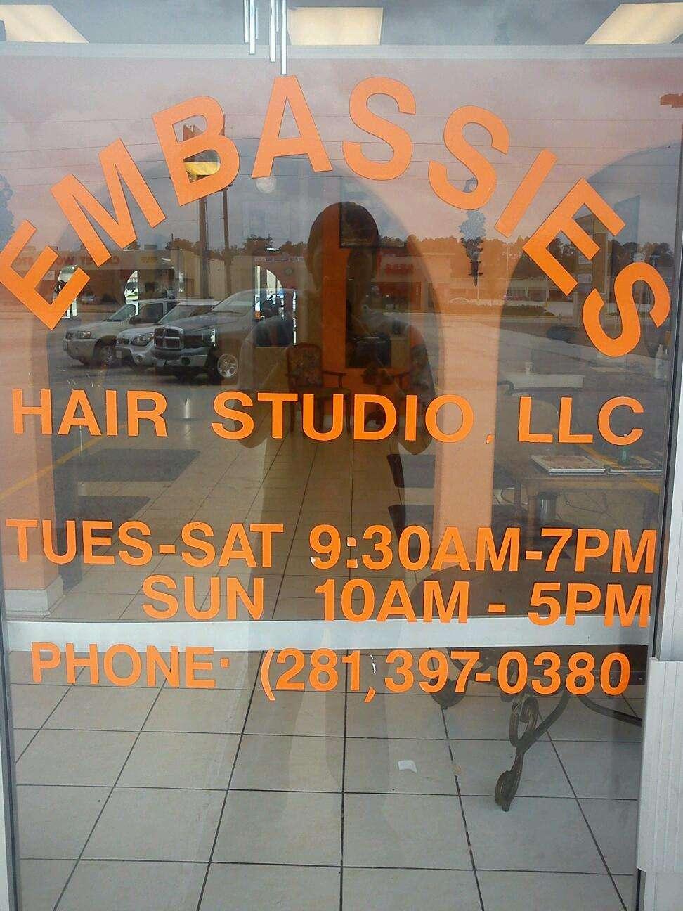 Embassies Hair Studio - hair care  | Photo 2 of 2 | Address: 2135 Cypress Creek Pkwy, Houston, TX 77090, USA | Phone: (281) 397-0380