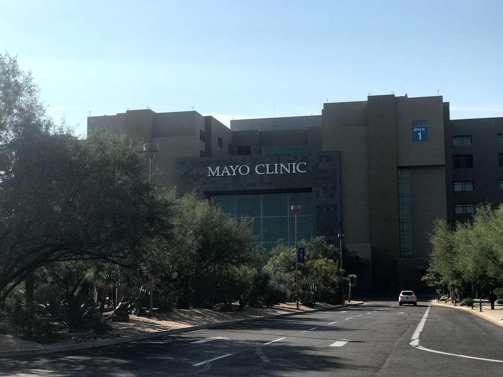 Mayo Clinic Building - Phoenix - hospital    Photo 2 of 3   Address: 5881 E Mayo Blvd, Phoenix, AZ 85054, USA   Phone: (480) 342-2000