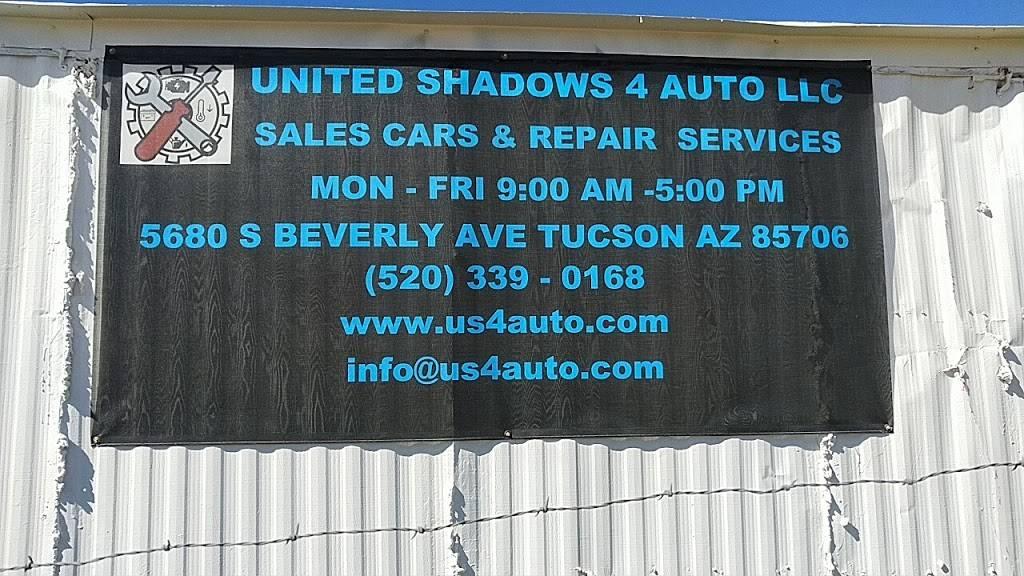 United Shadows 4 Auto - car dealer  | Photo 1 of 10 | Address: 5680 S Beverly Ave, Tucson, AZ 85706, USA | Phone: (520) 339-0168