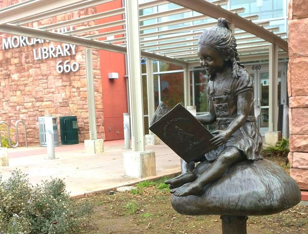 Morgan Hill Library - library    Photo 2 of 10   Address: 660 W Main Ave, Morgan Hill, CA 95037, USA   Phone: (408) 779-3196