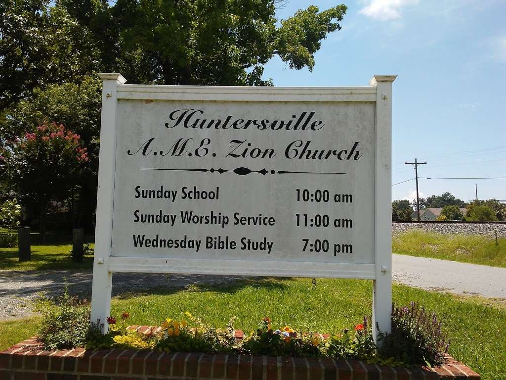 Huntersville A.m.e Zion Church - church  | Photo 3 of 5 | Address: S Church St, Huntersville, NC 28078, USA | Phone: (704) 875-9121