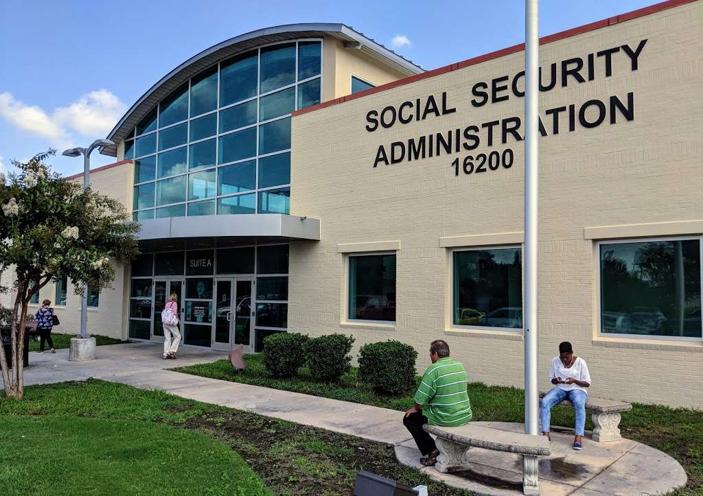 Social Security Administration - local government office    Photo 1 of 10   Address: 16200 Dillard Dr, Jersey Village, TX 77040, USA   Phone: (800) 772-1213