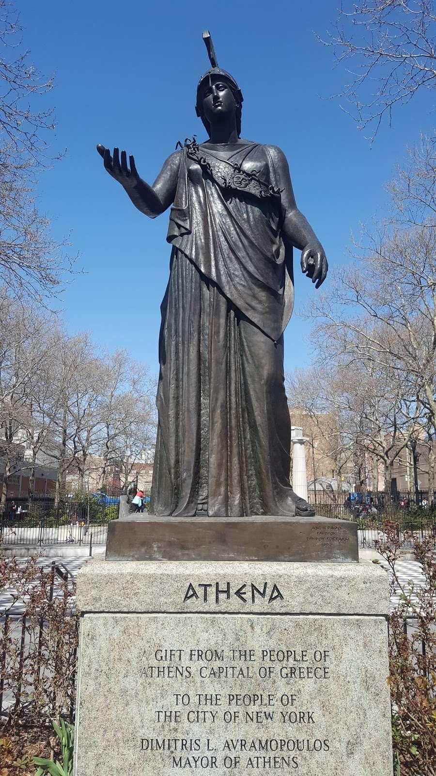 Athens Square - park  | Photo 2 of 10 | Address: 30th St & 30th Ave, Astoria, NY 11102, USA