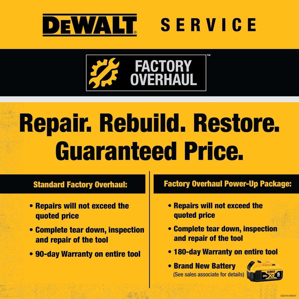 DEWALT Service Center - store  | Photo 8 of 9 | Address: 901 S Rohlwing Rd A, Addison, IL 60101, USA | Phone: (630) 521-1097