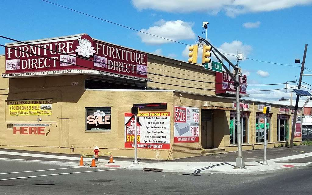 Furniture Direct - furniture store    Photo 2 of 10   Address: 368 Duncan Ave, Jersey City, NJ 07306, USA   Phone: (201) 984-0048