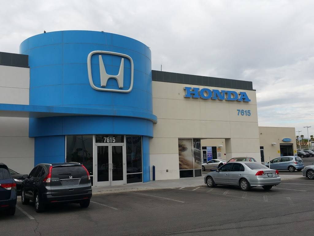 Honda West - car dealer  | Photo 10 of 10 | Address: 7615 W Sahara Ave, Las Vegas, NV 89117, USA | Phone: (800) 249-9504