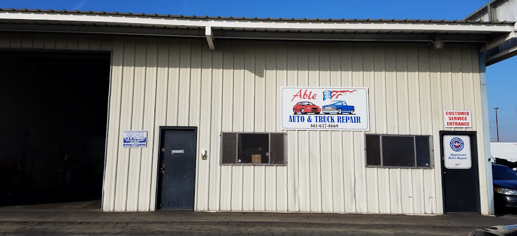 Able Auto and Truck Repair - car repair  | Photo 1 of 9 | Address: 2459 Fruitvale Ave #1, Bakersfield, CA 93308, USA | Phone: (661) 637-0669