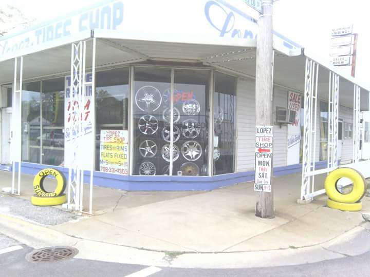 Lopez Tire Shop - car repair  | Photo 10 of 10 | Address: 15303 S Halsted St, Harvey, IL 60426, USA | Phone: (708) 331-4303