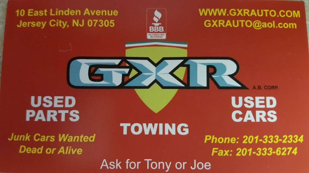 GXR Auto Body Corporation - car repair  | Photo 4 of 4 | Address: 10 Linden Ave E, Jersey City, NJ 07305, USA | Phone: (201) 333-2334
