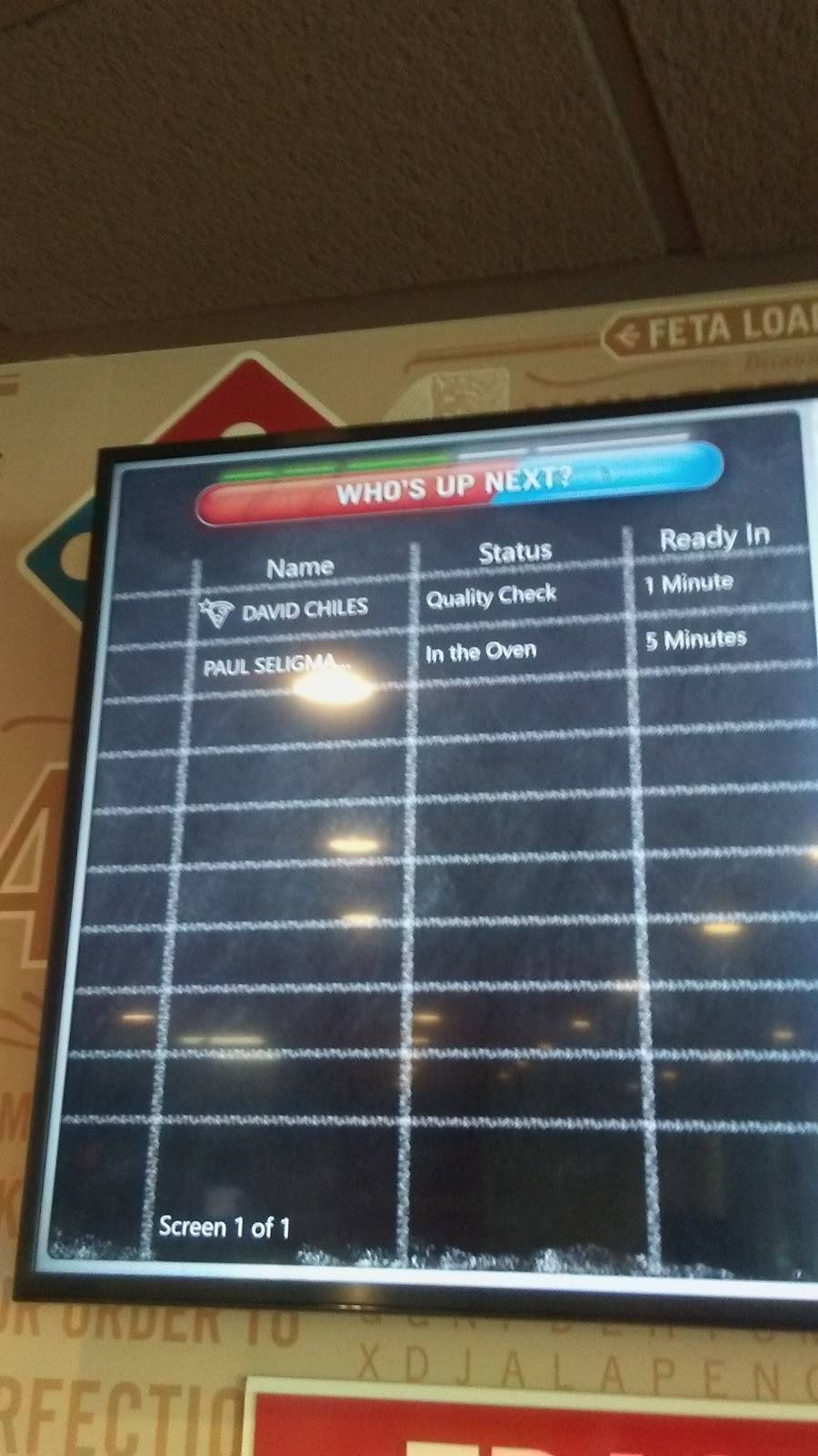 Dominos Pizza - meal delivery    Photo 7 of 10   Address: 1719 22nd Ave, Seattle, WA 98122, USA   Phone: (206) 712-1504