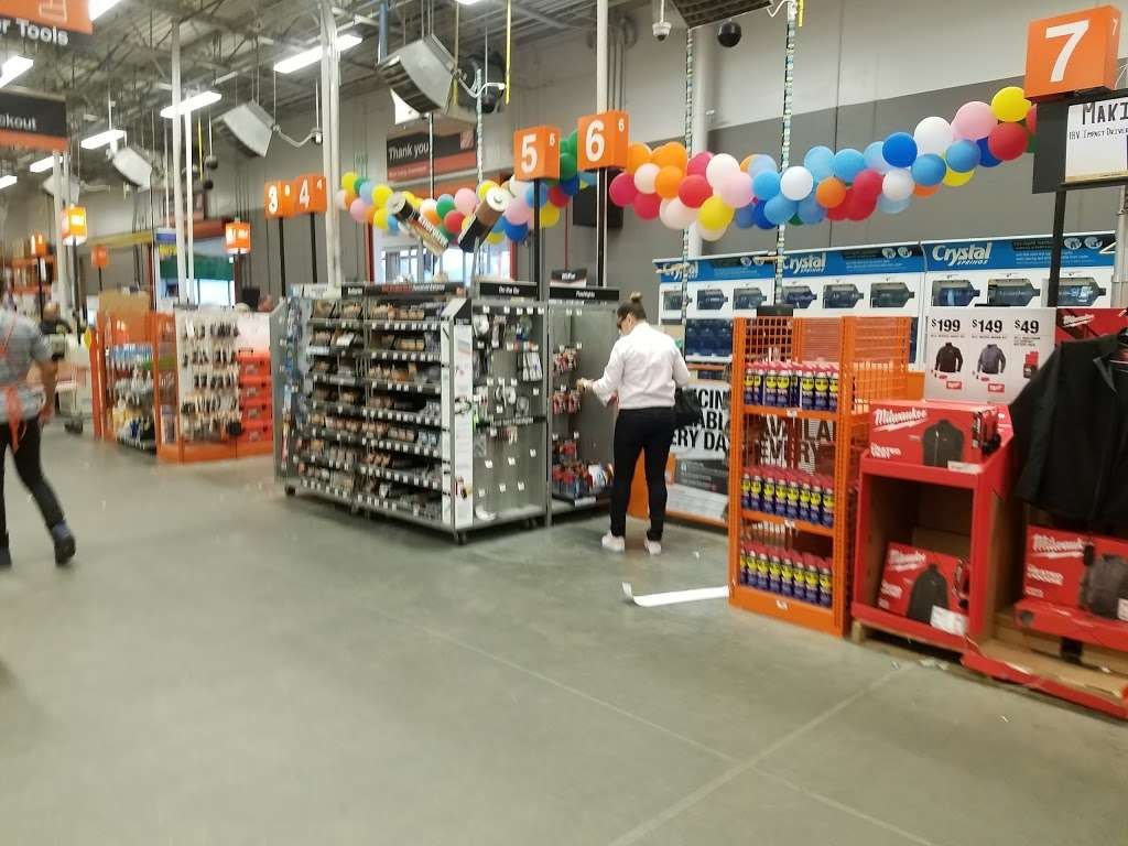 The Home Depot - hardware store  | Photo 1 of 10 | Address: 7605 Tonnelle Ave, North Bergen, NJ 07047, USA | Phone: (201) 868-8125