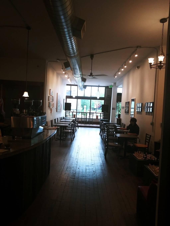 red e café roasters - art gallery  | Photo 5 of 10 | Address: 1006 N Killingsworth St, Portland, OR 97217, USA | Phone: (503) 998-1387