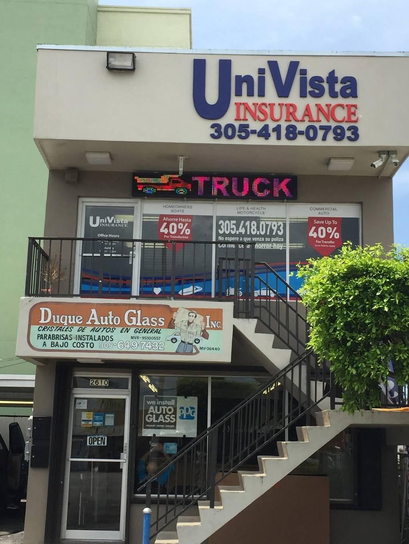 Univista Insurance 2610 Nw 7th St Miami Fl 33125 Usa