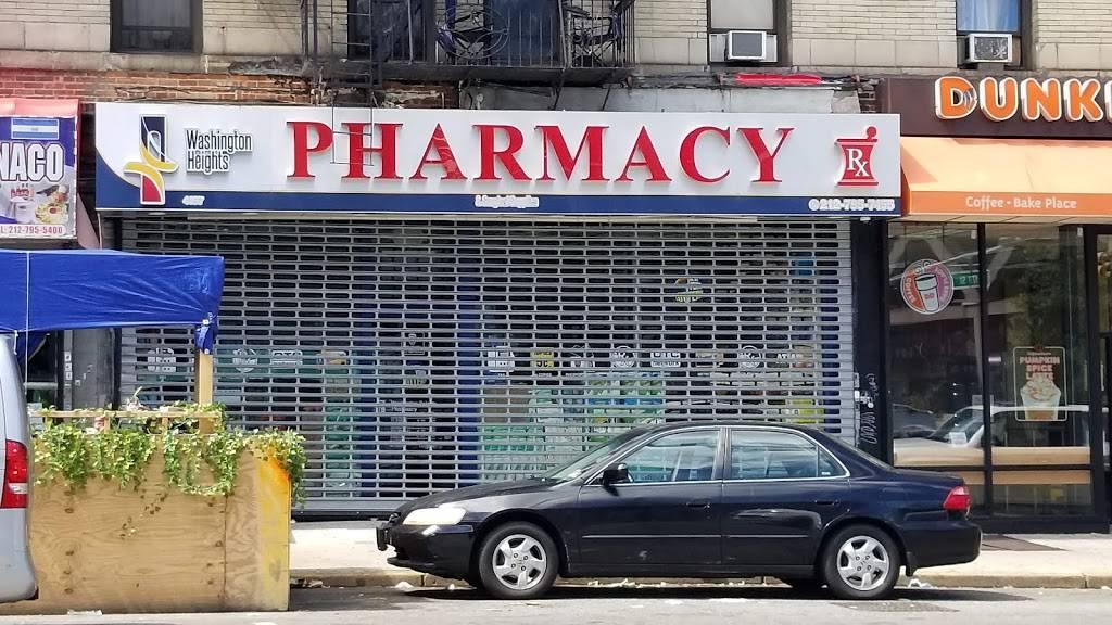 Washington Heights pharmacy & Surgical supplies inc. - pharmacy    Photo 2 of 2   Address: 4197 Broadway, New York, NY 10033, USA   Phone: (212) 795-7455