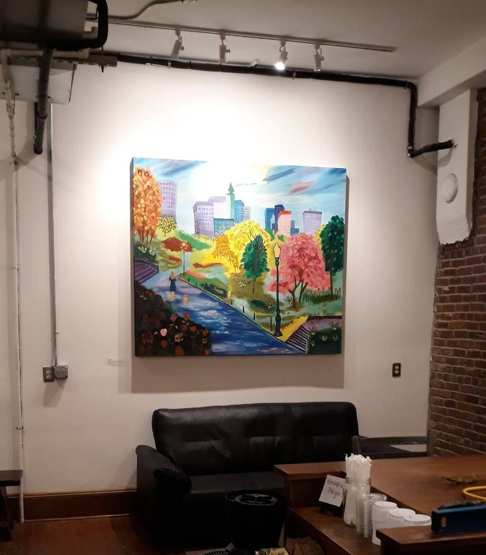 red e café roasters - art gallery  | Photo 9 of 10 | Address: 1006 N Killingsworth St, Portland, OR 97217, USA | Phone: (503) 998-1387