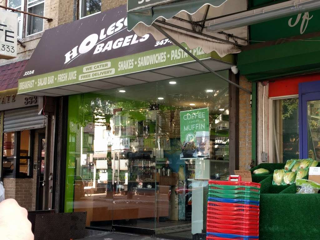 Holesome Bagels - meal delivery  | Photo 3 of 10 | Address: 333 Kingston Ave, Brooklyn, NY 11213, USA | Phone: (347) 955-5300
