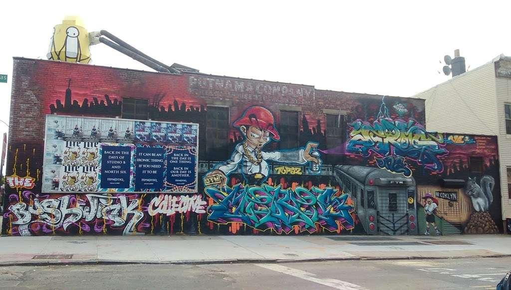 The Bushwick Collective - art gallery  | Photo 5 of 10 | Address: St Nicholas Ave, Brooklyn, NY 11237, USA