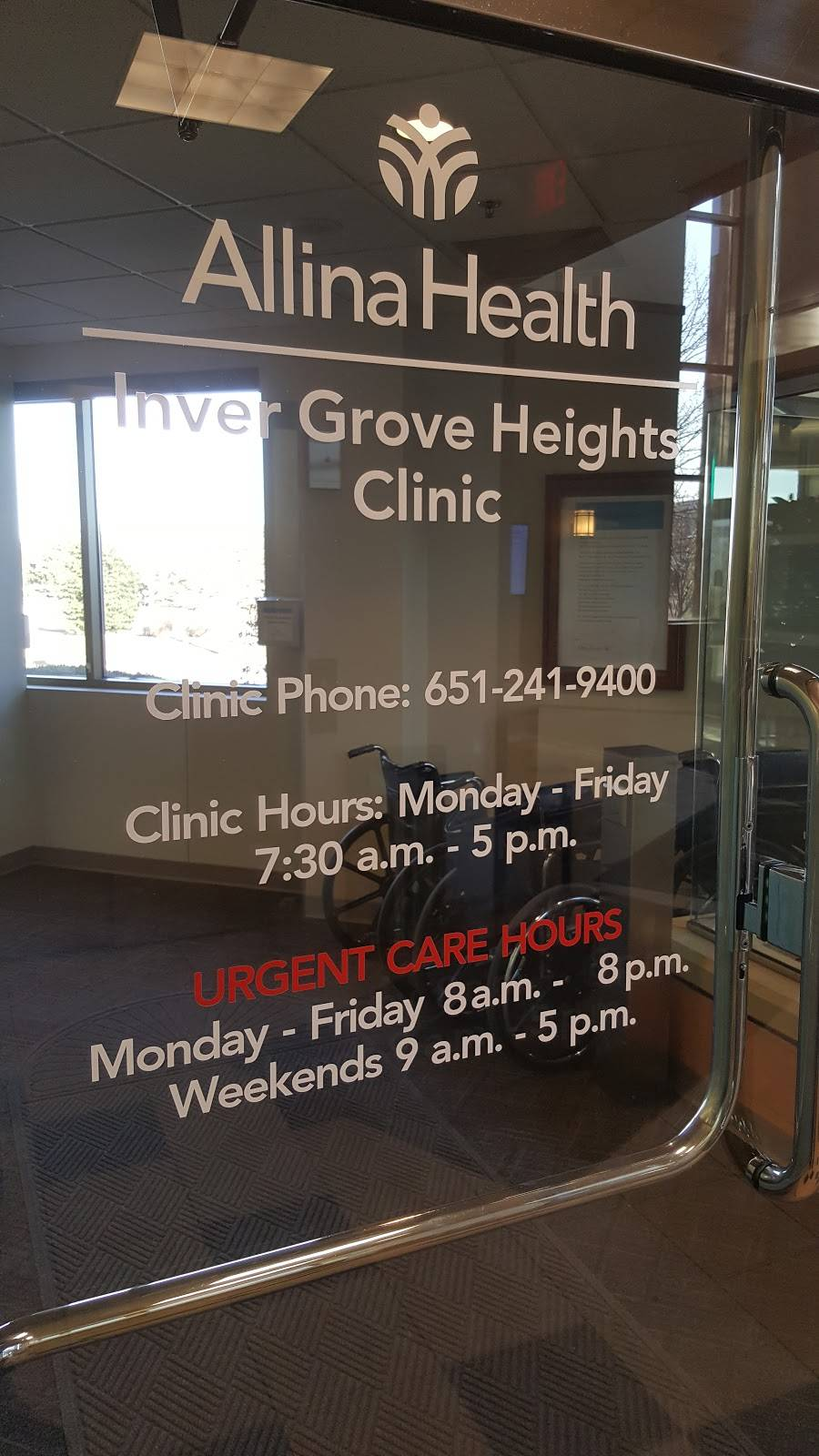 Allina Health Inver Grove Heights Clinic - hospital  | Photo 2 of 2 | Address: 5565 Blaine Ave E, Inver Grove Heights, MN 55076, USA | Phone: (651) 241-9400