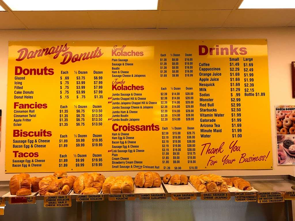 Dannays Donuts - bakery  | Photo 4 of 4 | Address: 7599 Garth Rd, Baytown, TX 77521, USA