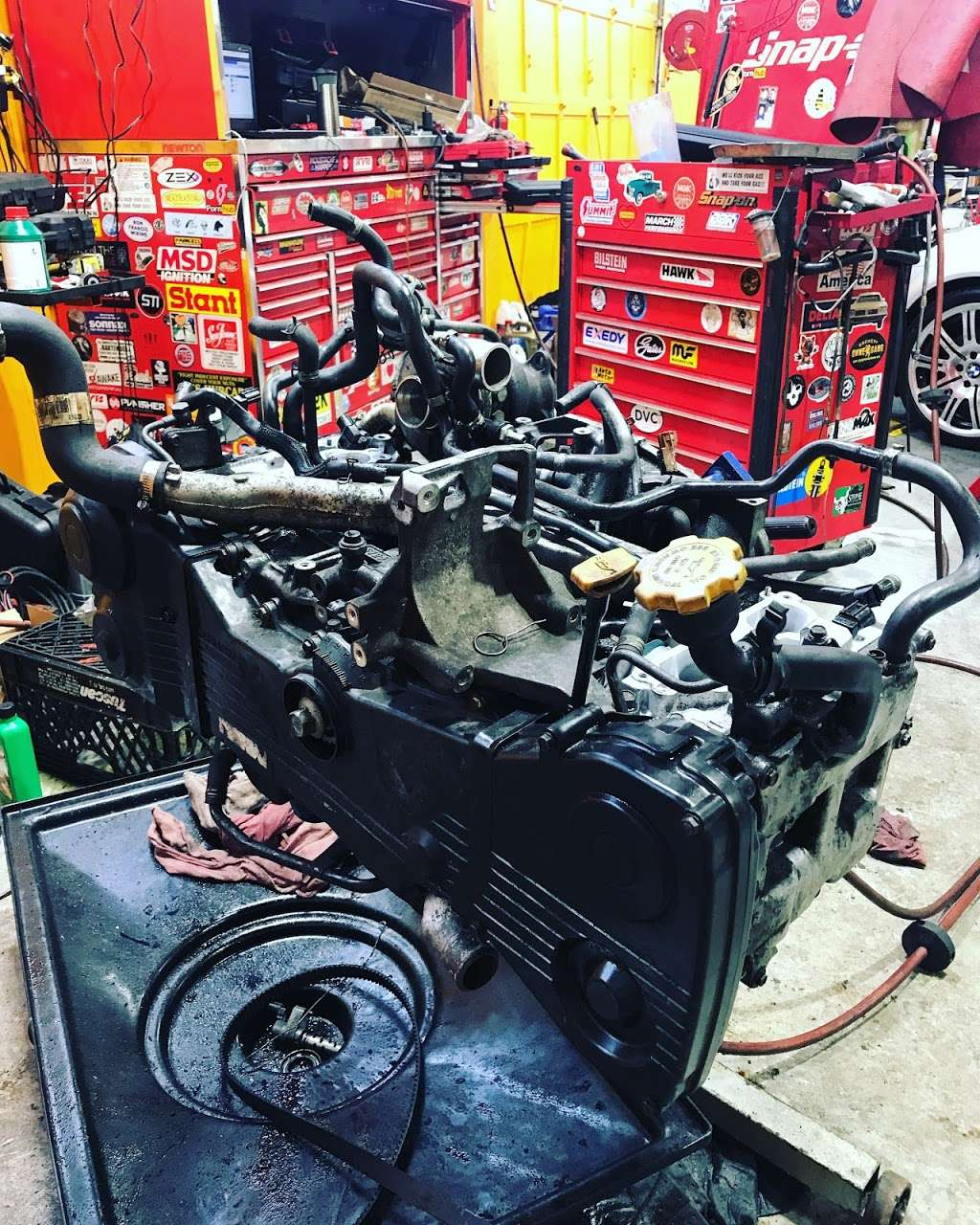 Essential Auto Care - car repair    Photo 7 of 10   Address: 69-90 73rd Pl, Middle Village, NY 11379, USA   Phone: (718) 301-6313