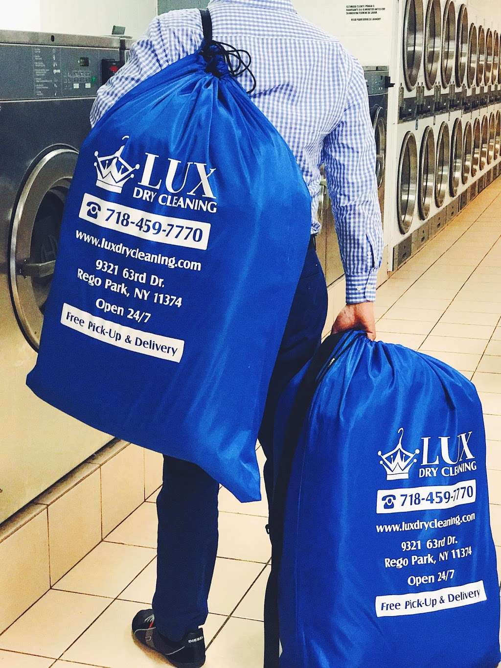 Lux Dry Cleaning - laundry  | Photo 10 of 10 | Address: 9321 63rd Dr, Rego Park, NY 11374, USA | Phone: (718) 459-7770