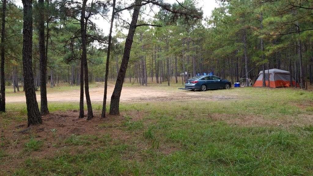 Hunters Camp Sam Houston National Forest Park