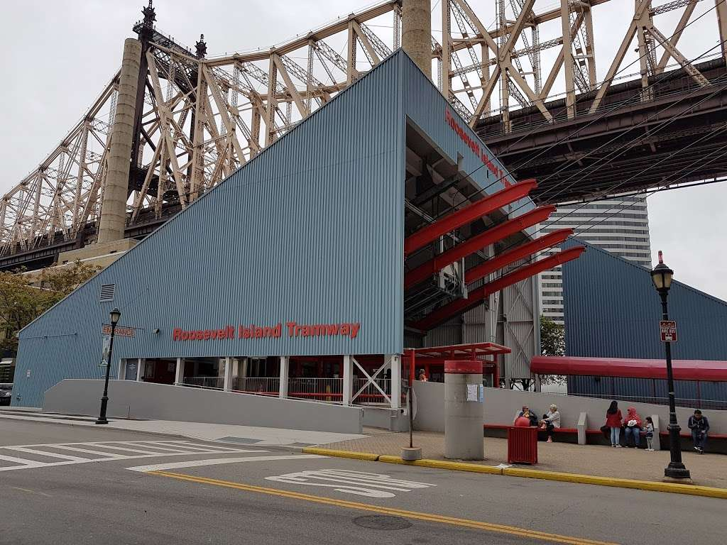 Roosevelt Island Tram Station - transit station  | Photo 9 of 10 | Address: Main St, Roosevelt Island, NY 10044, USA