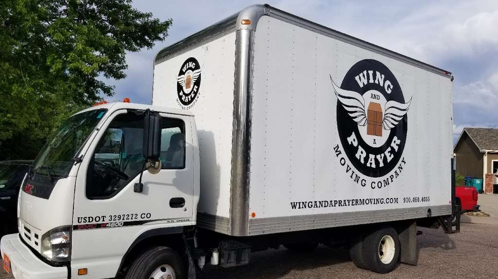 A Wing and a Prayer Moving Co. - moving company  | Photo 1 of 2 | Address: 901 Mesa Ct, Windsor, CO 80550, USA | Phone: (970) 460-4055