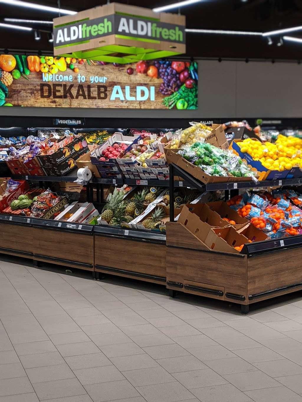 ALDI - supermarket    Photo 7 of 9   Address: 2540 Sycamore Rd, DeKalb, IL 60115, USA   Phone: (855) 955-2534