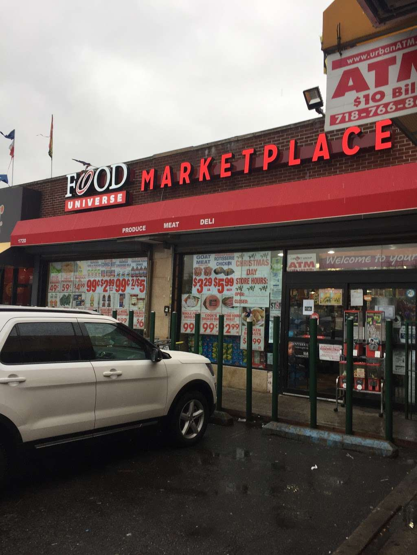 Food Universe Marketplace - supermarket  | Photo 1 of 1 | Address: 1720 Atlantic Ave, Brooklyn, NY 11213, USA | Phone: (718) 363-0281