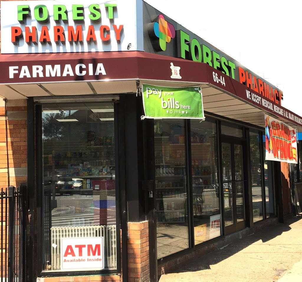 Forest Pharmacy - pharmacy    Photo 1 of 7   Address: 66-44 Forest Ave, Ridgewood, NY 11385, USA   Phone: (718) 417-4700