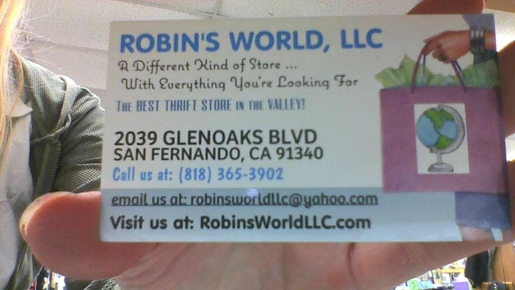 ROBINS WORLD - store  | Photo 5 of 5 | Address: 2039 Glenoaks Blvd, San Fernando, CA 91340, USA | Phone: (818) 365-3902