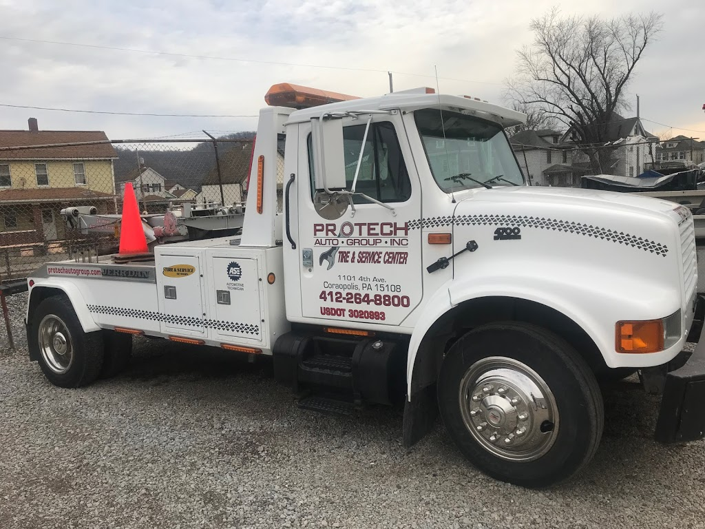 Protech Auto Group Towing & Recovery - car repair  | Photo 2 of 2 | Address: 1101 4th Ave UNIT B, Coraopolis, PA 15108, USA | Phone: (724) 561-5260